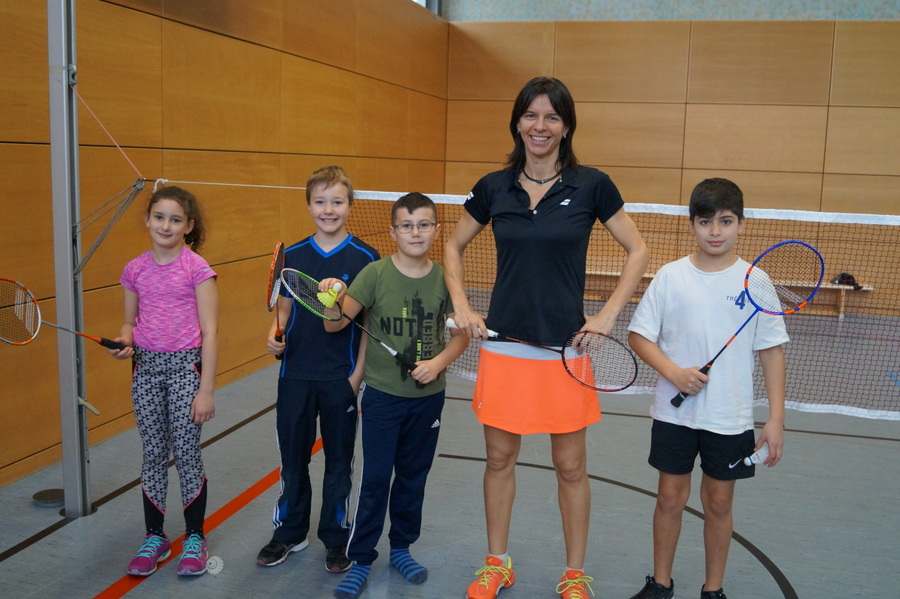 Badminton Grundschule